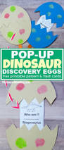 kids dinosaur discovery eggs learning craft the soccer mom blog