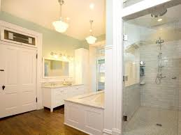 traditional master bathroom with undermount sink u0026 drop in bathtub