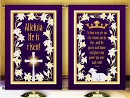 Easter Decorating Ideas Church by Easter Church Banners Craftshady Craftshady