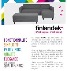 banc canape finlandek canapé d angle réversible banc kulma 3 places tissu
