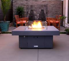 Wind Screens For Patios by Pretty Propane Fire Pit Table In Patio Traditional With Patio Wind