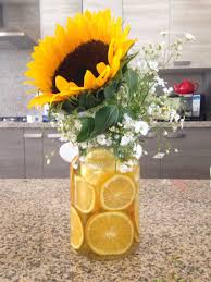 table centerpieces with sunflowers sunflower centerpiece by gabs birthday celebration ideas