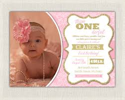 first birthday invitation damask princess invitations pink and