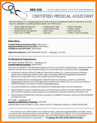 How To Write A Medical Assistant Resume 7 Medical Assistant Resume Example Ats Resuming