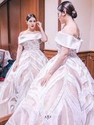wedding dress raisa indahnya gaun princess raisa buat bingung siapa pengantinnya