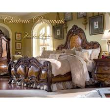 Michael Amini Furniture Used 3 497 00 Chateau Beauvais Panel Bed By Michael Amini D2d