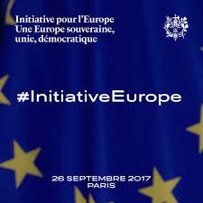 si e de l union europ nne initiative pour l europe discours d emmanuel macron pour une