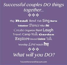 things for couples successful couples do things together