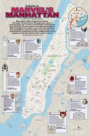 New York City Map With Attractions by What Are The Places In Marvels New York New York City Comic Vine