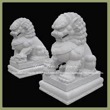 white foo dogs foo dog garden statues home outdoor decoration