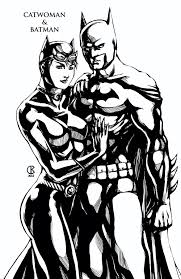ideas collection batman and catwoman coloring pages on download