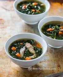 healthy turkey soup recipe with kale kale soup recipes kale