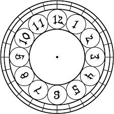 kh clock face template by prncssgrl1881 on deviantart