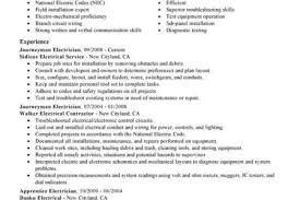 Electrician Resume Sample by Foreman Journeyman Electrician Resume Samples Reentrycorps