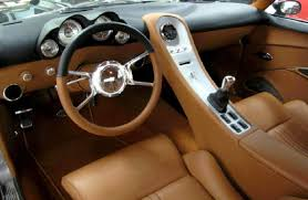 Custom Corvette Interior Dashworks By Paul Atkins Interiors
