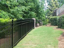 Garden Fence Types - ornamental fence types accent fence