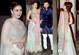 kareena kapoor along with bride soha looks mesmerizing at wedding