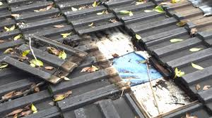 Cement Tile Roof Roof Repairs Sydney On Leaking Flat Concrete Tile Roof Below 20