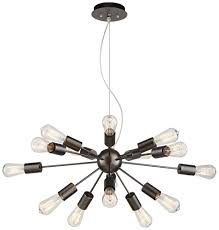 Sputnik Light Fixture by Possini Euro Hemingson 33