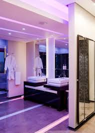 bathroom led lighting ideas awesome purple led lighting of bathroom design paired with trendy