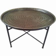 round wood and metal side table the best coffee round wood metal table steel box frame pic for glass