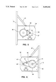 patent us5419521 three axis pedestal google patents