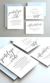 wedding stationery templates simple wedding invitations leafy wedding invitation simple