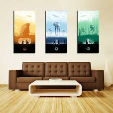 th1001 hd canvas print home decor art painting no frame star wars