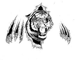 38 best tiger tattoo outlines images on pinterest tattoo outline