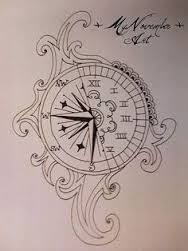 clock and rose tattoo designs google search tattoo ideas