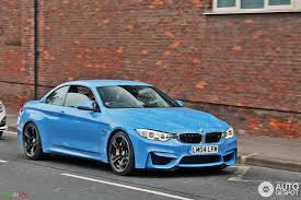 2015 bmw m3 convertible f83 bmw m4 convertible looks great in yas marina blue