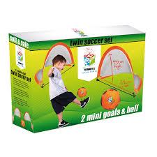 rebel sport summit kids in sport twin football goal set
