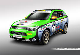 mitsubishi dakar mitsubishi outlander phev to compete in asia cross country rally