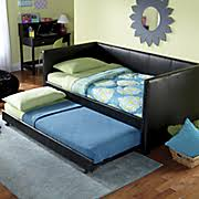 pine daybed trundle bed from montgomery ward si74416