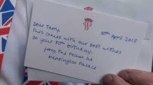 kensington palace sent a birthday card and cake to an 80 year old