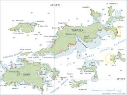 map of the bvi islands tortola map list of lights