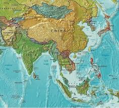 map of aisa maps of asia tsiosophy