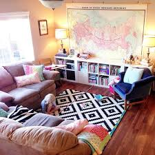 room in a house living room in the apartment like the rug mom has same one