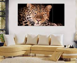 2017 hd canvas print home decor wall art painting picture leopard