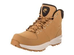 nike men u0027s manoa leather men nike boots 454350 700 haystack