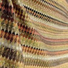 Wool Drapery Fabric Tonala Desert Southwestern Geometric Upholstery Fabric