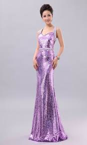 Dinner Dresses Colourful Blinking Sequins Straps Evening Dress Dinner Dress