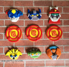 transformers rescue bots 1 edible cake or cupcake topper edible edible fondant toppers rescue bot inspired