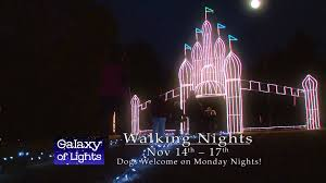 christmas lights huntsville al galaxy of lights walking nights week 1 youtube