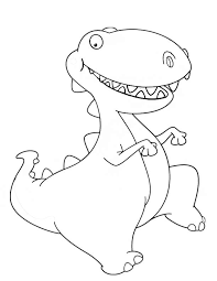 baby dinosaur pictures coloring