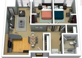 2 bed floor plans apartment floor plans near marquette the marq