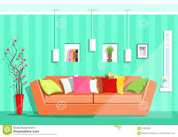 modern colorful living room royalty free stock images image