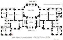 Euro Asia Park Floor Plan Vaux Le Vicomte Wikipedia