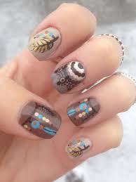 indian inspired nail art my nail designs pinterest nail art