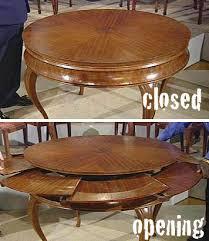 Round Dining Tables Bijou Kaleidoscope - Antique round kitchen table